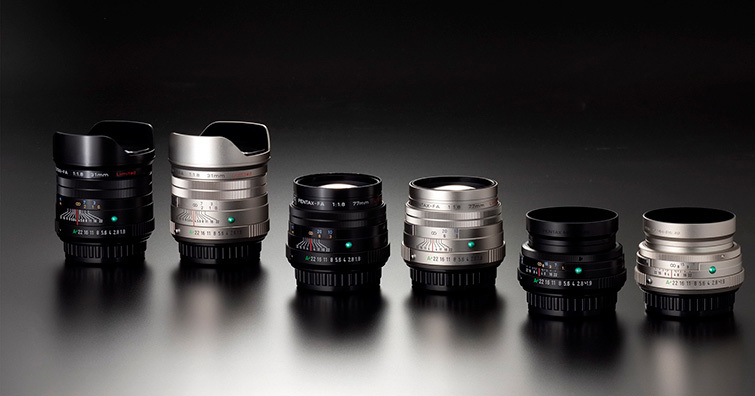 【CP+2021】RICOH發佈HD PENTAX-FA 31mm / 43mm / 77mm Limited三款限量版鏡頭