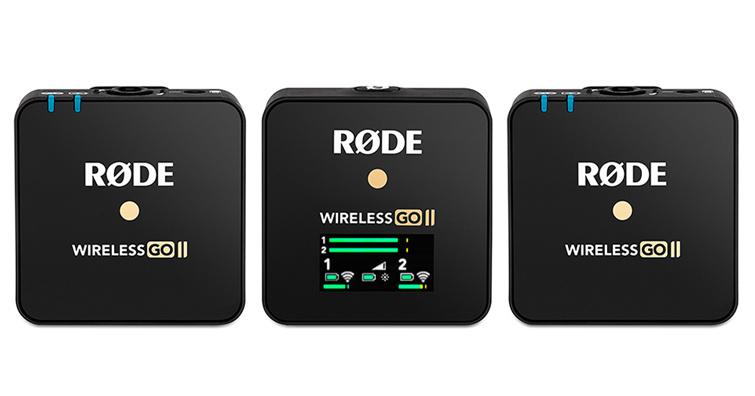 世界最小1對2無線麥克風 RØDE Wireless GO II 第二代正式發售!!