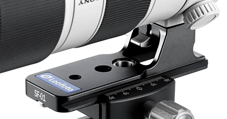Sony系列大砲鏡頭對應-Leofoto推出大砲穩定延伸套板