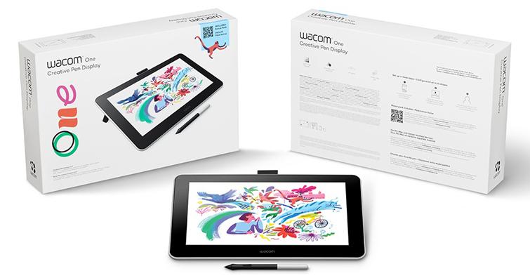 享受如同筆在紙上的觸感 Wacom One液晶繪圖螢幕新登場