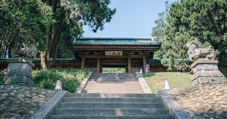 攝影新景點:桃園忠烈祠暨神社文化園區,彷彿置身東洋之境