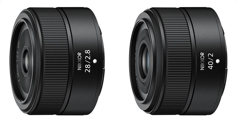 Nikon宣布開發Z系列28mm F2.8、40mm F2輕便定焦鏡