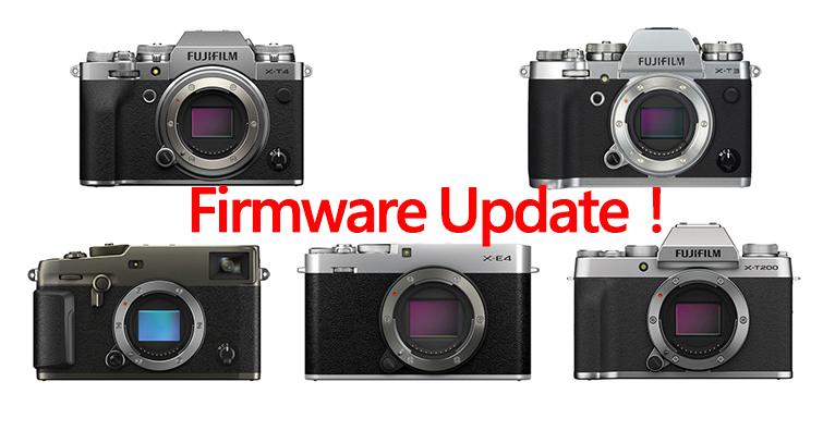 富士發布X-T4∕X-T3∕X-Pro3∕X-E4∕X-T200韌體更新!修復部份問題讓相機更好用