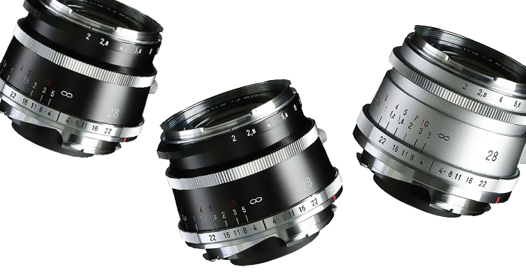 福倫達 ULTRON Vintage Line 28mm F2 ASPH Type I・II VM 正式發佈!