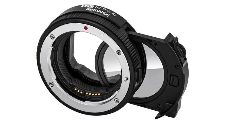 焦點工房 Commlite CM-EF-EOSR VCPL電子轉接環發售,建議售價約NT$ 4,600