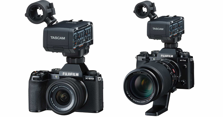 TEAC宣布為富士X相機開發TASCAM XLR麥克風轉換器