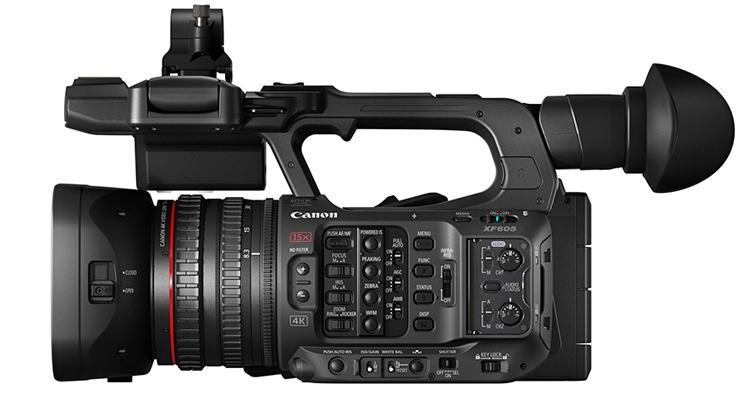 Canon 發佈全新輕巧型廣播級 4K 攝影機 XF605,預計2021年10月上市