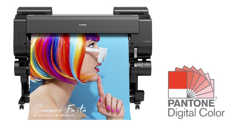 Canon首次推出搭載水性顏料螢光色墨水的大幅面印表機 新imagePROGRAF GP系列 提供更高附加值的圖像輸出方案