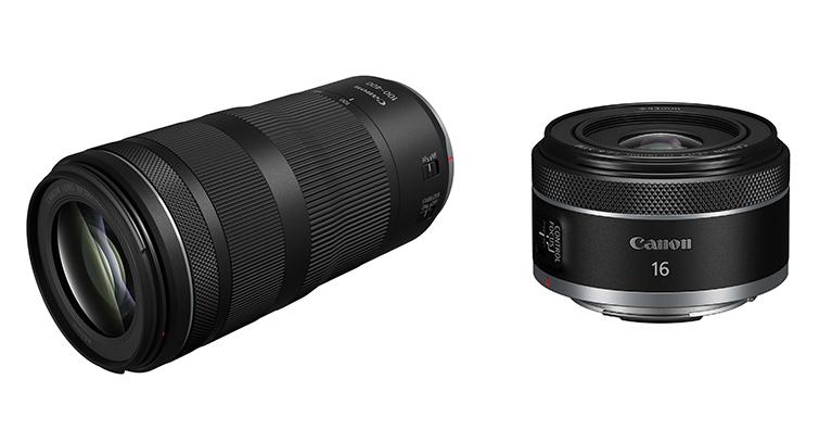 兼顧小型輕量化與高畫質 Canon發佈RF100-400mm F5.6-8 IS USM和RF16mm F2.8 STM