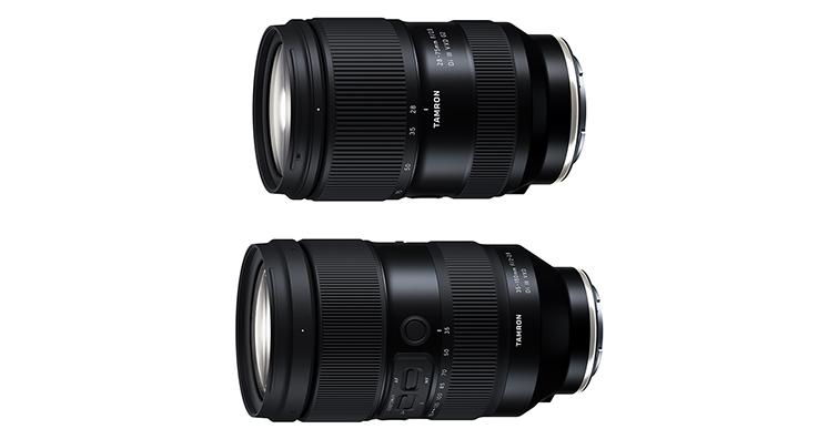 【乳摸】TAMRON即將發布35-150mm F2-2.8 Di III VXD和28-75mm F2.8 Di III VXD G2