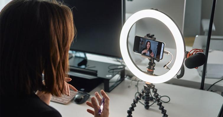 JOBY發佈全新Beamo系列環形燈,為攝影、視訊與電話會議提供更出色的照明效果